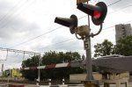 Нарушение правил на переезде Томск